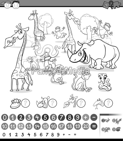 calculating animals activity