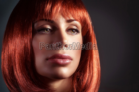 fashion portrait of a beautiful woman