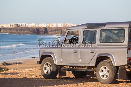 jeep am strand