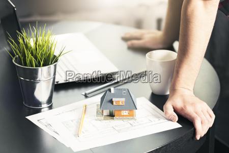 architect engineer occupation man working