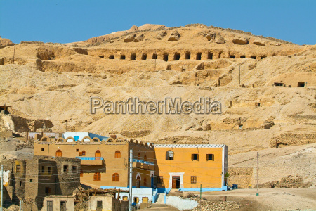 aegypten niltal luxor gebiet theben
