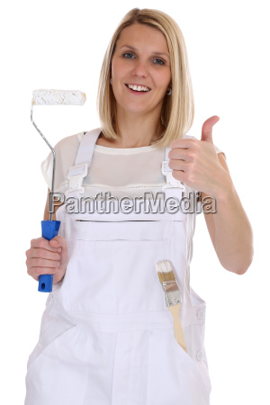 painter woman painter professional craftsman thumbs