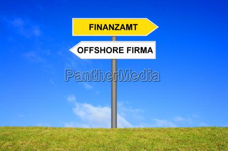 schild offshore firma oder finanzamt