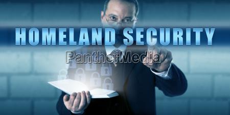 schutz professional pushing homeland security