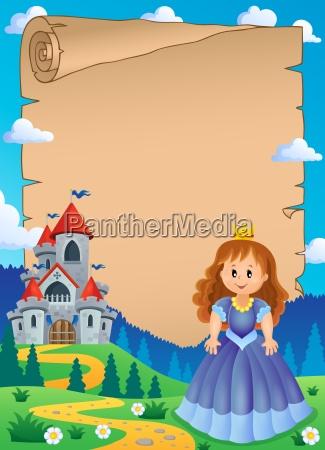 donna composizione persona sistemazione principessa tema