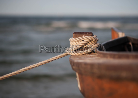 firmly anchored