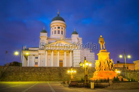 kathedrale in helsinki finnland