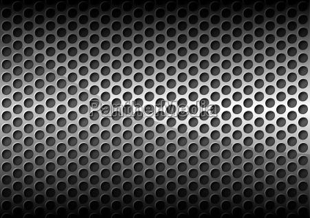 chrome gelochte metallgitter
