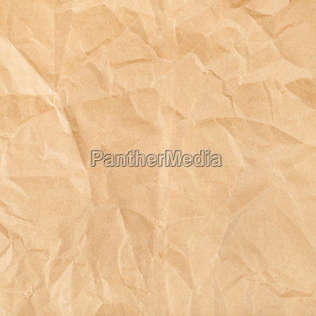 square background from wrapping brown paper