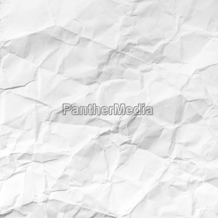 square background from white crumpled paper