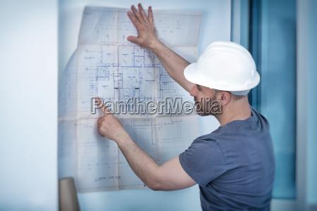 architekt baumeister studium layoutplan der zimmer