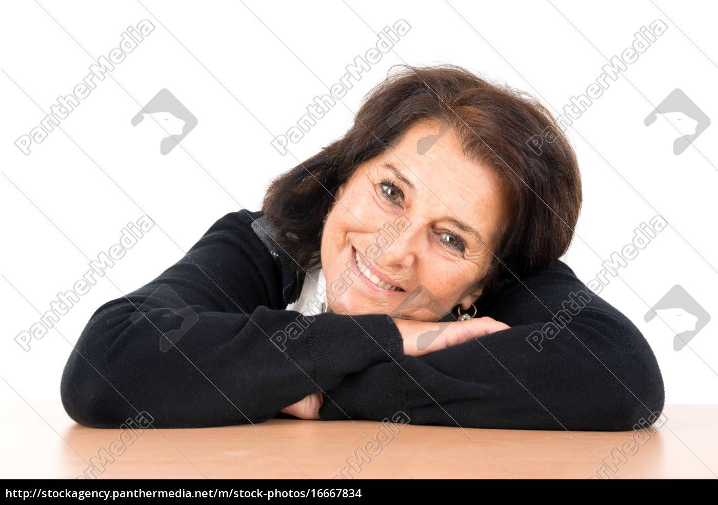 Frau schöne ältere 30 schöne