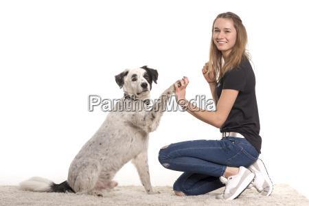 command dog training girl girls