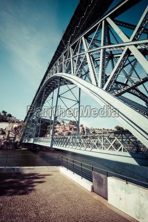 stadt porto in portugal ponte luiz
