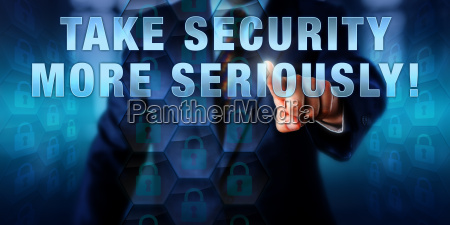 director pressing take security more seriously