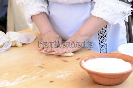 gnocchi pasta von sardinien