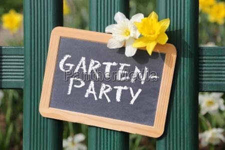 gartenparty gartenfest garten party fest mit