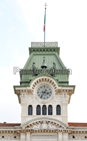 trieste clock tower