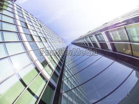 germany hesse frankfurt city haus glass