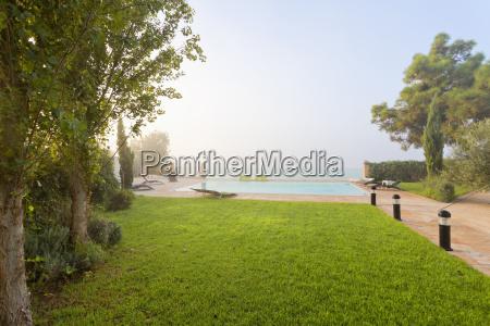 spain balearic islands majorca swimming pool