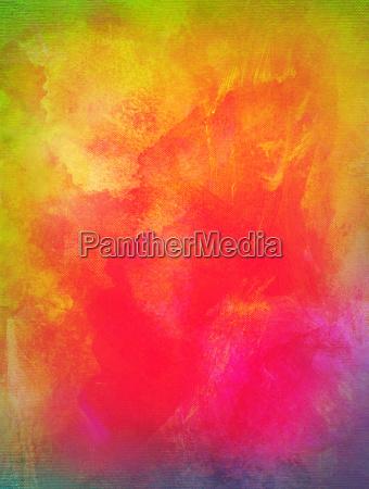 color texture extending canvas