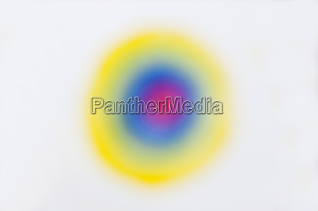blurred circles on a white background