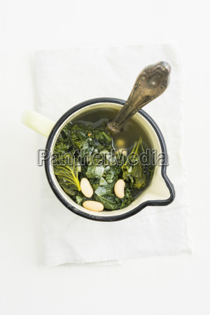 soup with kale and canellini beans
