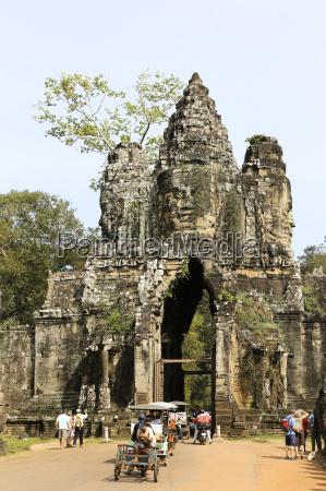religion tempel kultur baum tourismus eingang