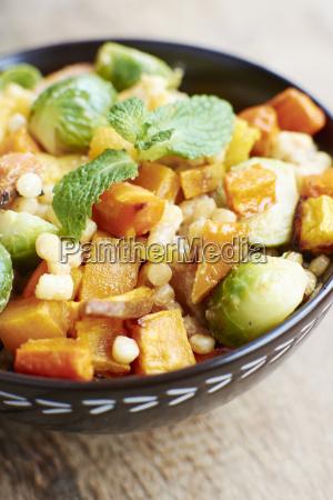 roasted sweet potato butternut squash and