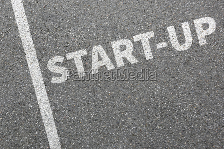 business concept with startup startup establishing