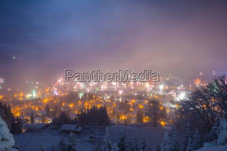 fahrt reisen bauten farbe winter nachts