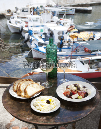 greece agios nikolaos traditional greek starters