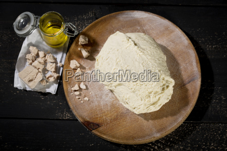 pizza dough yeast and olive oil