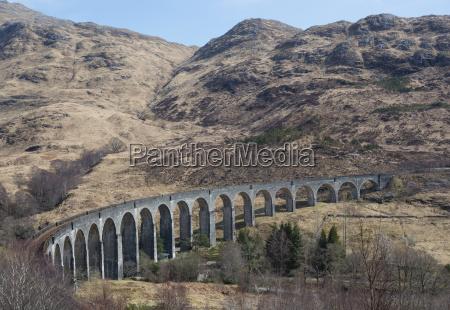 vereinigtes, königreich, schottland, schottisches, hochland, glenfinnan, viaduct - 16993248