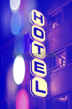 germany duesseldorf facade of hotel with