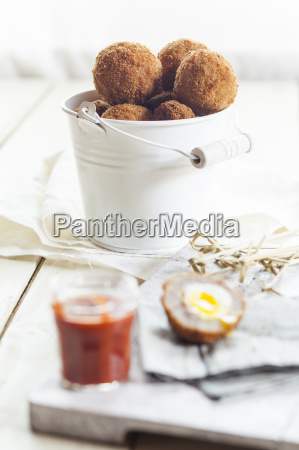 traditional scottish snack food mini scotch