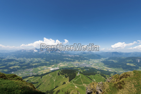 austria tyrol st johann view into