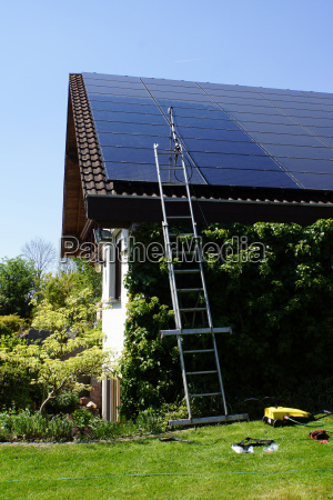 reinigung einer photovoltaik anlage