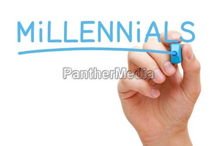 millennials blaumarker