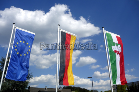 flaggen nationalflagge nrw nordrheinwestfalen deutschlandflagge euflagge