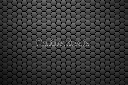 honeycomb pattern dark