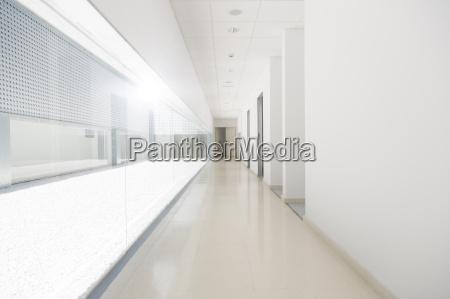 lange leere korridor