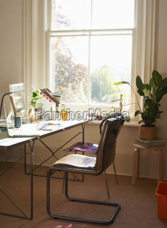 sunny home office