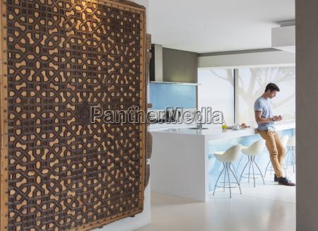 daheim zuhause modern moderne horizontal kueche