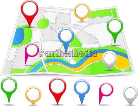 pin della mappa