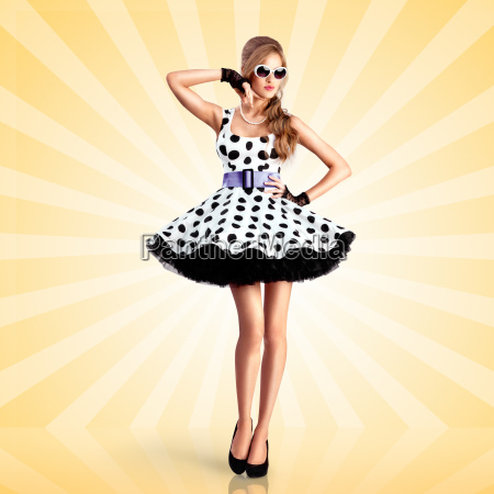 dotted kleid