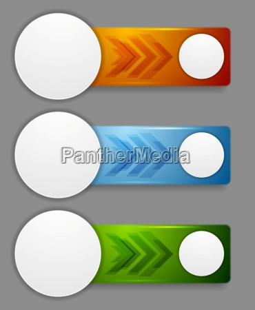 abstract web headers design