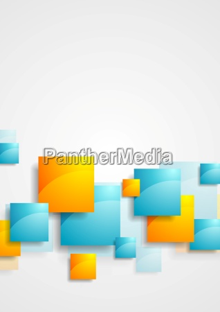 glaenzende hochglanzquadrate abstrakten tech hintergrund