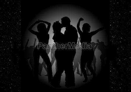 tanz party einladung