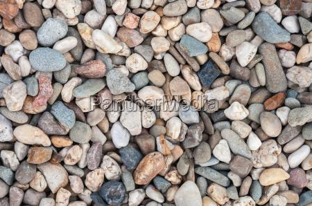 hintergrund aus bunten kieselsteinen